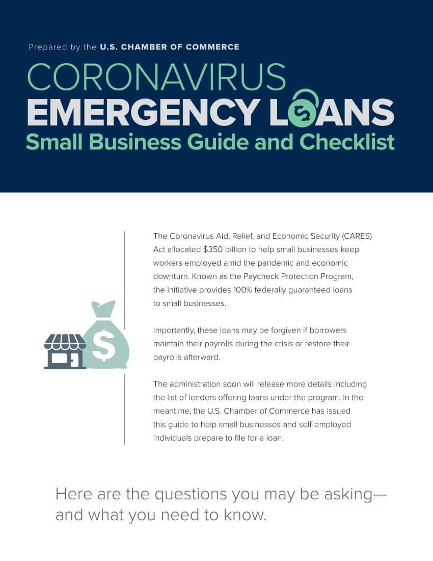 Emergency Loan Infographic