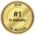 #1 in Industry in Region 2016