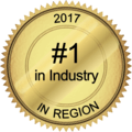 #1 in Industry in Region 2017