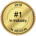 #1 in Industry in Region 2018