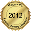 Mercury 100 Fastest Growing Companies award 2012