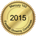 Mercury 100 Fastest Growing Companies award 2015