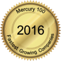 Mercury 100 Fastest Growing Companies award 2016