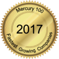 Mercury 100 Fastest Growing Companies award 2017