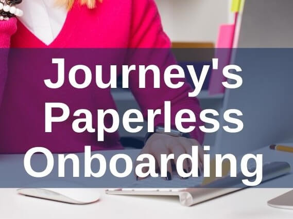 Journey's Paperless Onboarding