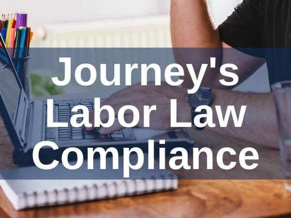 Journey's Labor Law Compliance