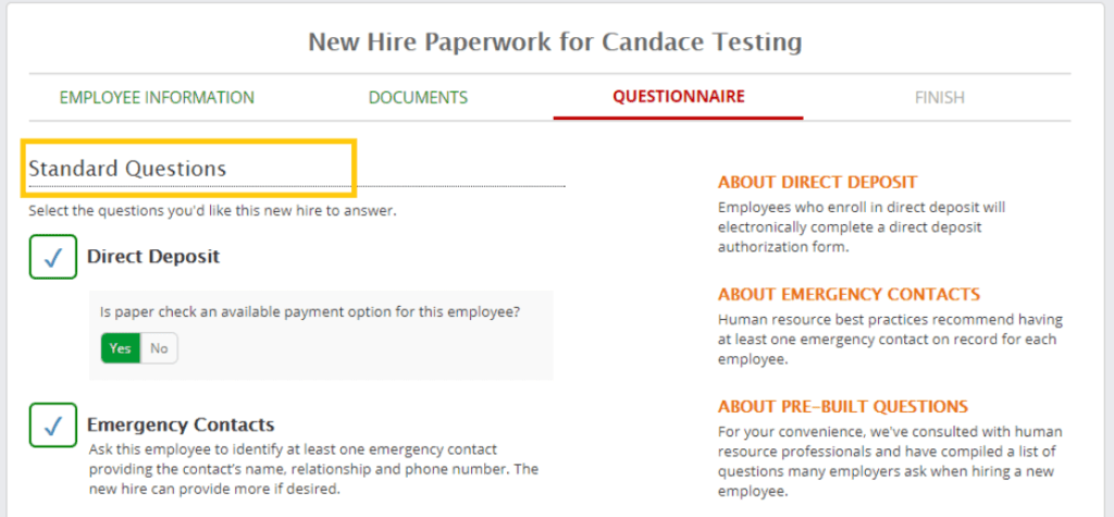 Paperless Onboarding Journey Employer Solutions