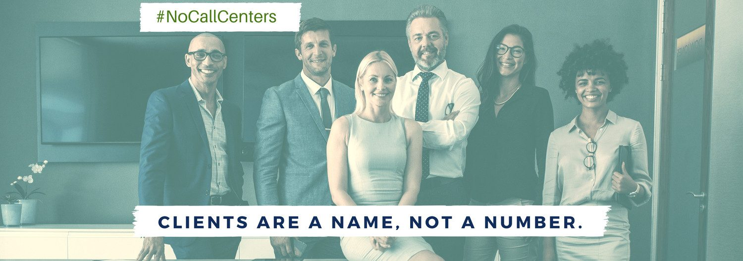 Clients are a name, not a number.