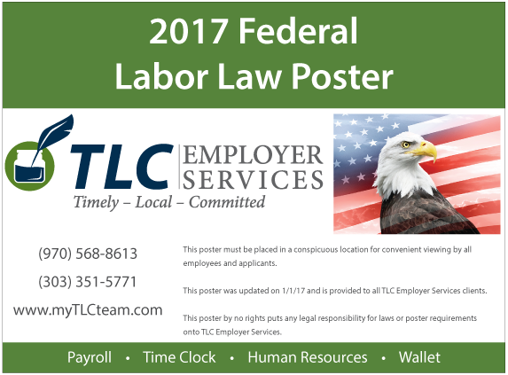 Labor Law Poster Preview