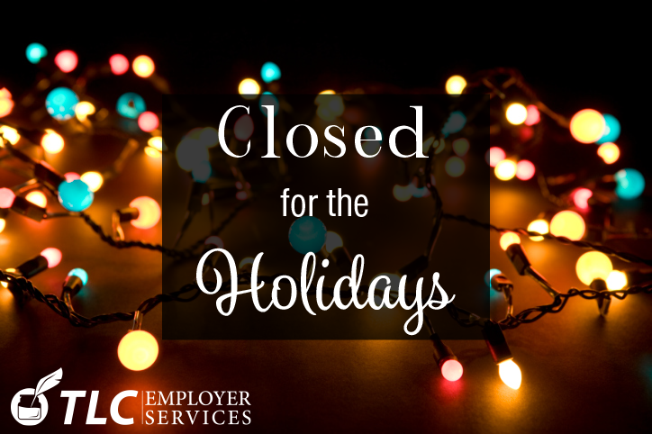 closed for the holidays white