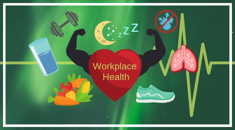 Workplace Health: sleep, diet, exercise, water
