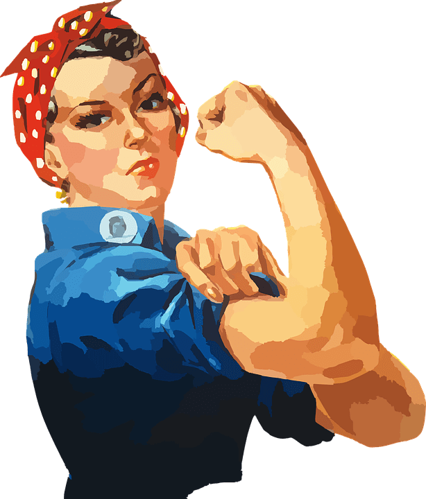Image of Rosie the Riveter, signifying the workforce and the new overtime pay rule.