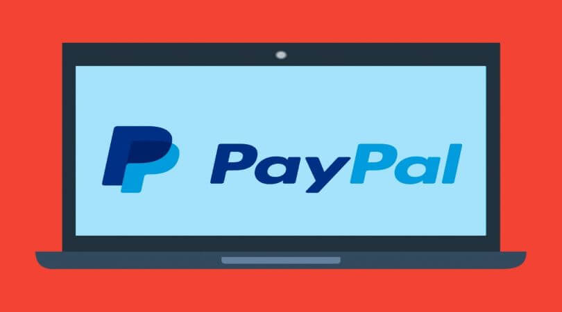 Image of PayPal logo, a fintech company to participate in the PPP.