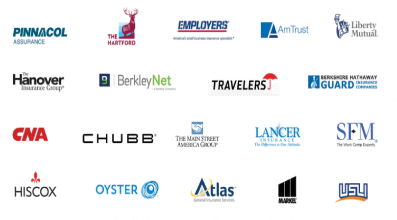 Image of Journey insurance carrier partners.