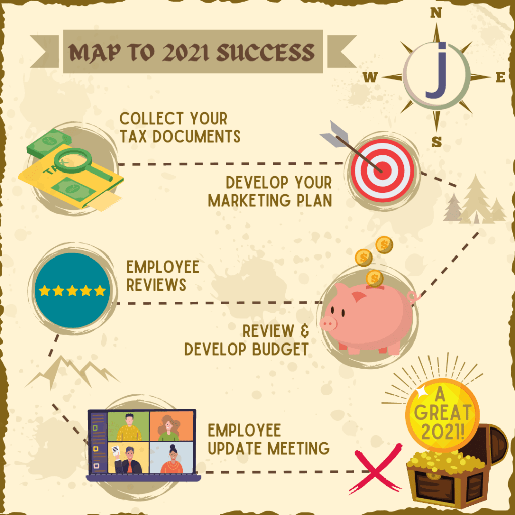 Map to new year updates