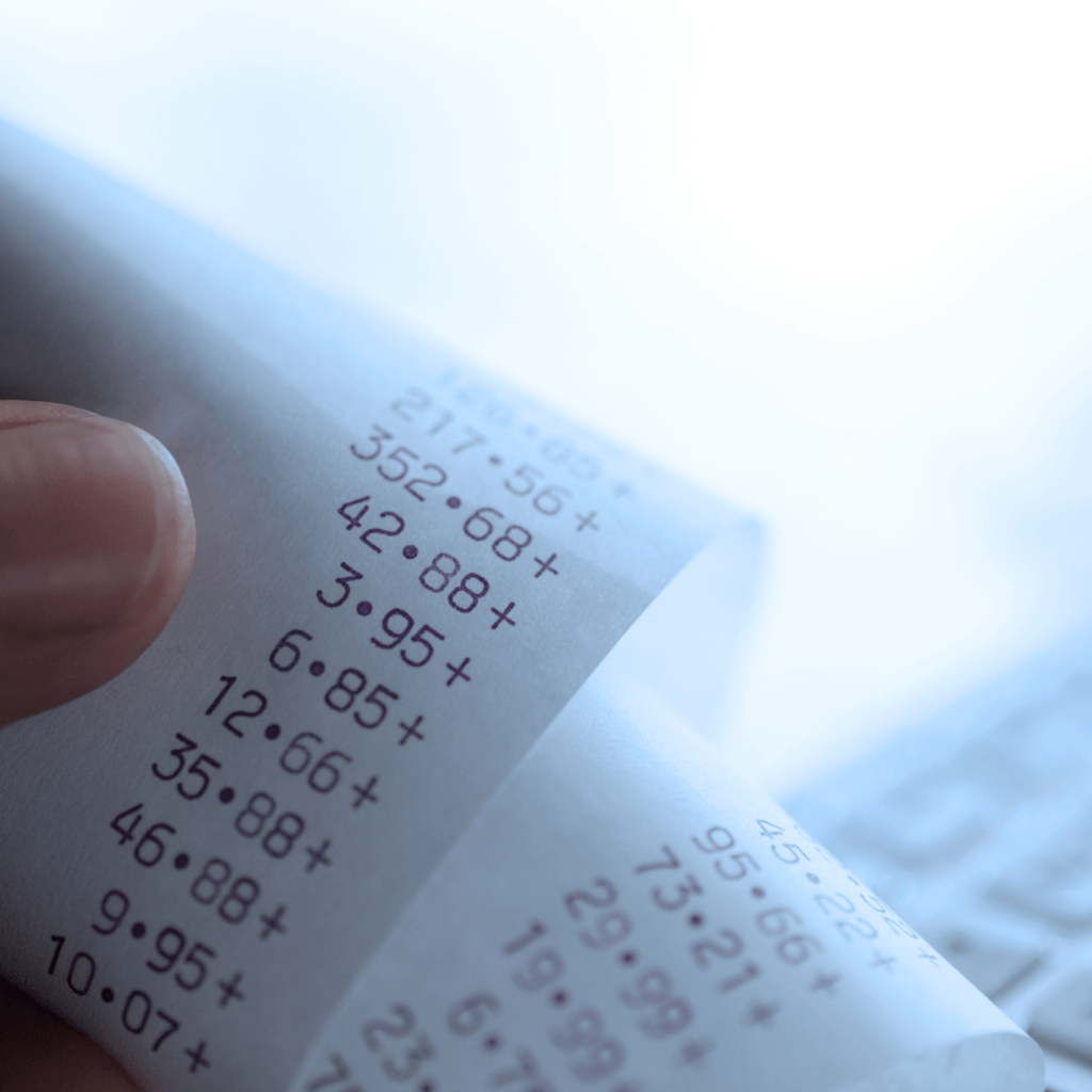how to create a business budget adding