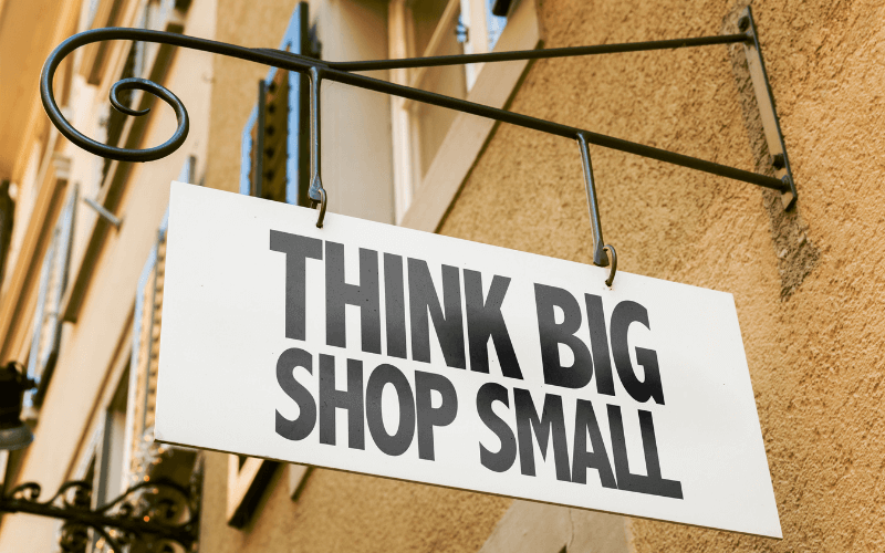 small business taxes shop small
